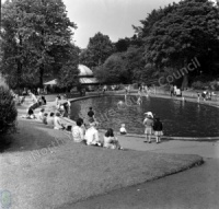 Harrogate, Valley Gardens, Children's Pool 1962